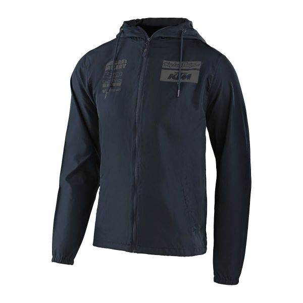 Geci/Hanorace Casual Troy Lee Designs Windbreaker KTM Team Navy