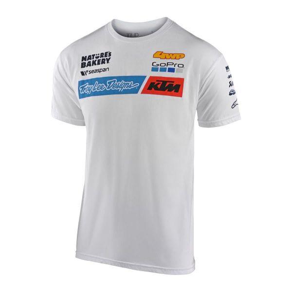 Tricouri/Camasi Casual Troy Lee Designs Tricou KTM Team White