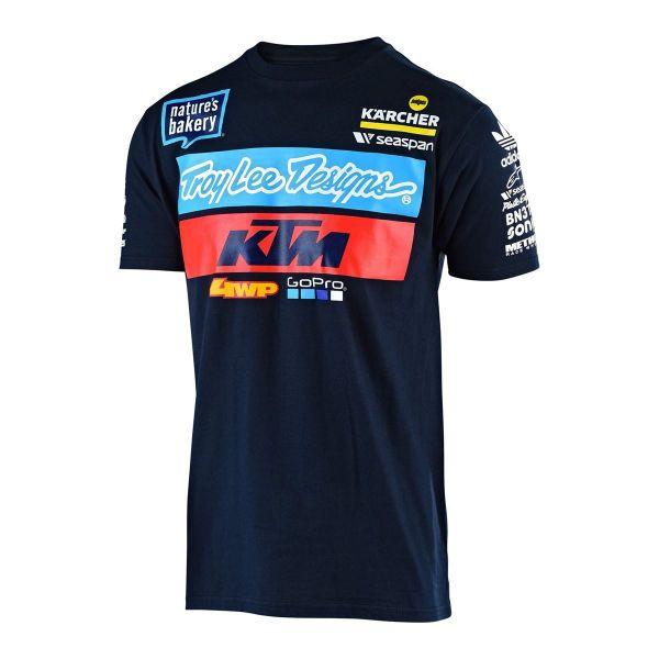 Tricouri Casual Troy Lee Designs Tricou TLD T-SHIRT KTM TEAM
