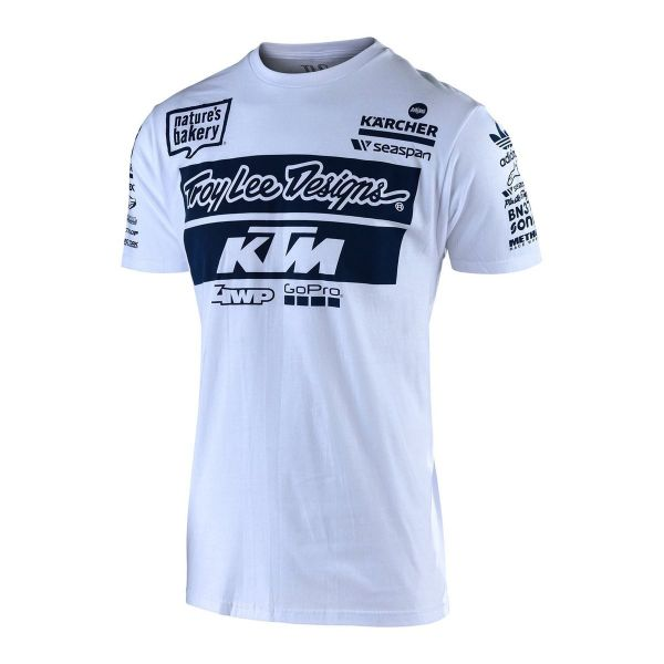 Tricouri/Camasi Casual Troy Lee Designs Tricou TLD T-SHIRT KTM TEAM
