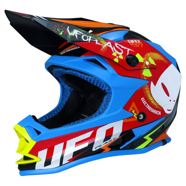 Casti MX-Enduro Copii Ufo Casca Onyx Multicolor Neon Copii