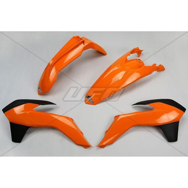 Plastice MX-Enduro Ufo Kit Complet Plastice KTM EXC 2014-2016 OEM Color KTKIT516E-999