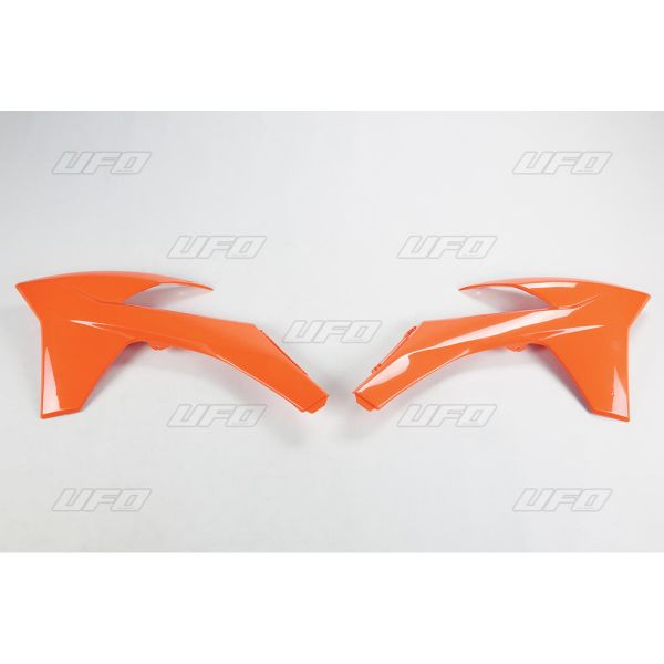 Plastice MX-Enduro Ufo Laterale Radiator KTM EXC 2012-2013 Orange KT04022-127