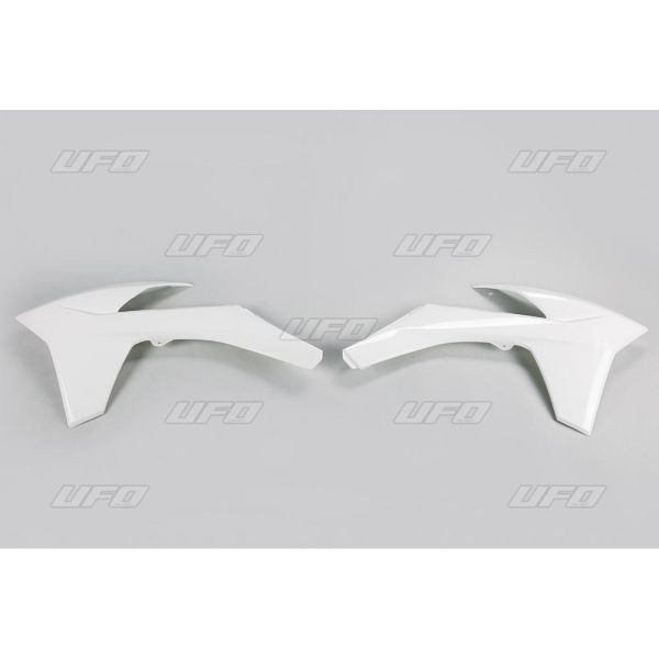Plastice MX-Enduro Ufo Laterale Radiator KTM EXC 2012-2013 White KT04022-047