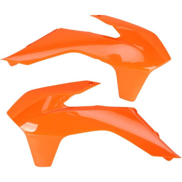 Plastice MX-Enduro Ufo Laterale Radiator KTM EXC 2014-2016 Orange KT04052-127