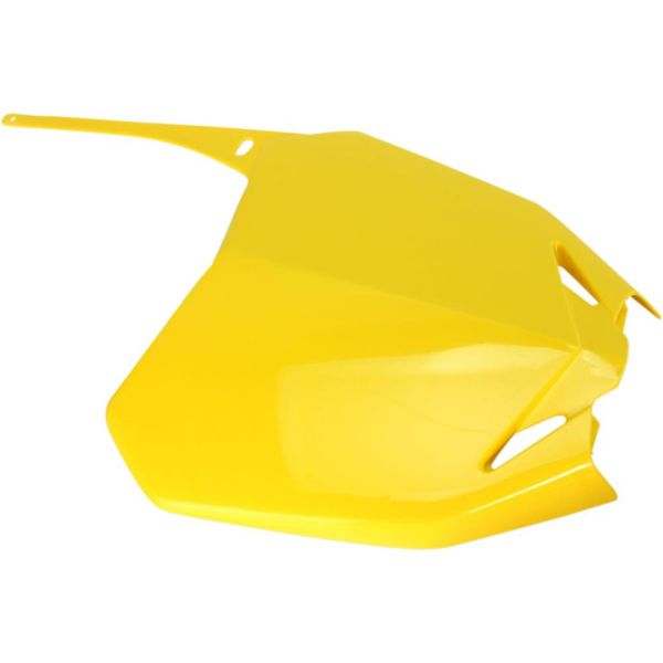 Plastice MX-Enduro Ufo Placuta Numar Fata Suzuki
