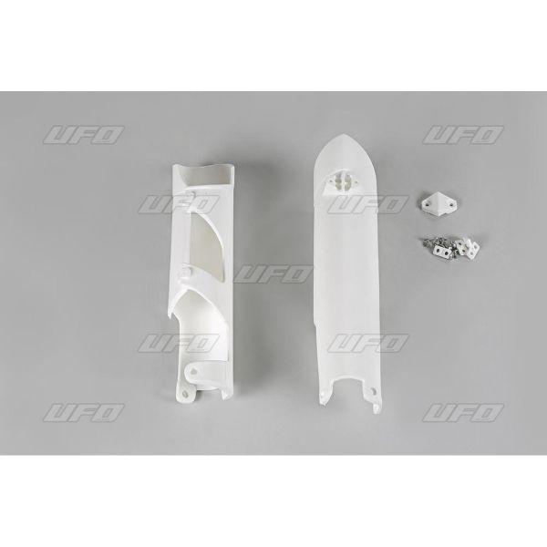 Plastice MX-Enduro Ufo Protectii Furca KTM EXC 2008-2015 White KT04002-127