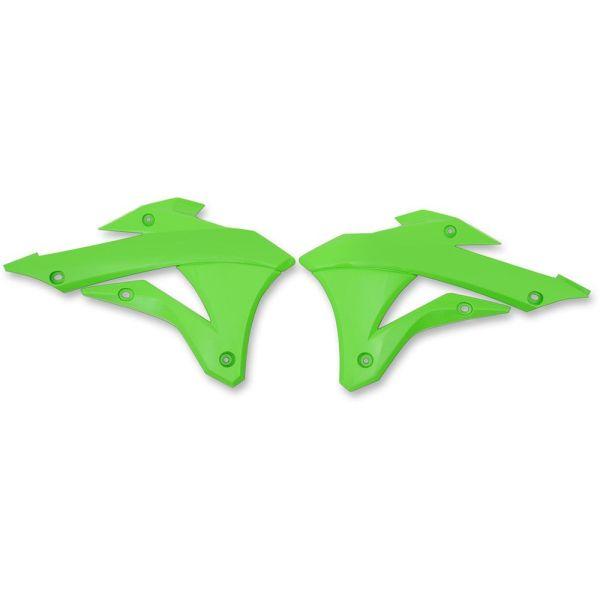 Plastice MX-Enduro Ufo Protectii Plastic Radiator Kawasaki