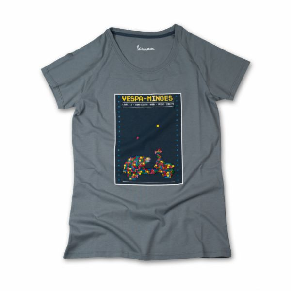 Tricouri/Camasi Casual Vespa Ladies Casual T-Shirt One Grey 2020