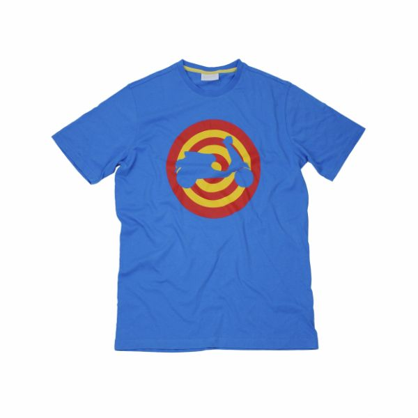 Tricouri/Camasi Casual Vespa Target Blue Royal T-Shirt 2020