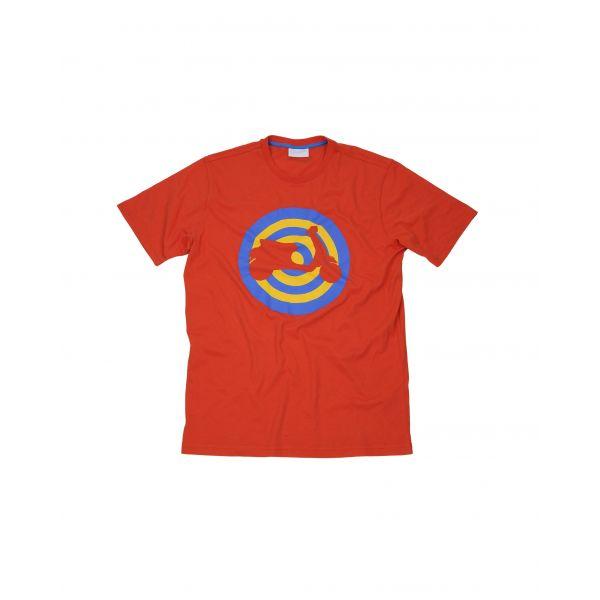Tricouri/Camasi Casual Vespa Target Red Casual T-Shirt 2020