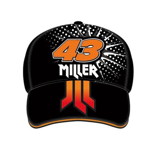 Sepci VR46 Sapca Jack Miller Jackass Negru JMMCA233804