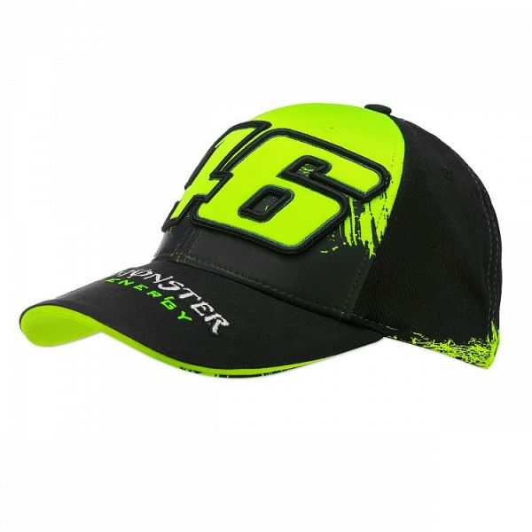 Sepci VR46 Sapca Monster Replica Black MOMCA315803