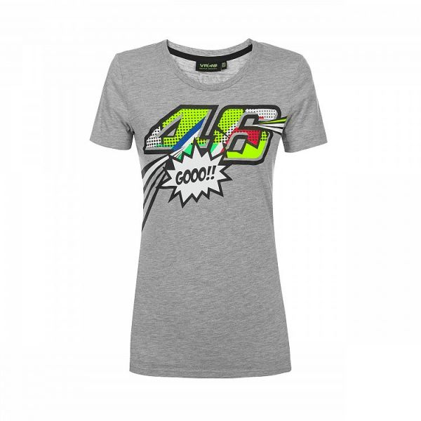 Tricouri Casual VR46 Tricou Pop Art Dama (VRWTS352205)