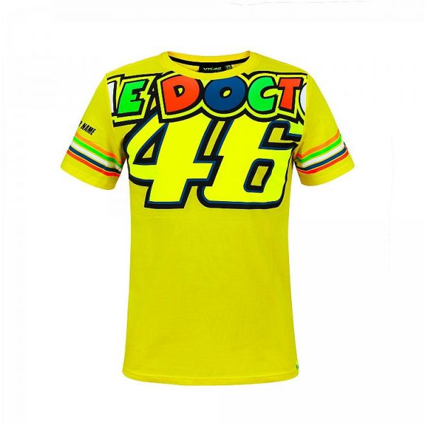 Tricouri Casual VR46 Tricou The Doctor Rossi Stripes (VRMTS305201)