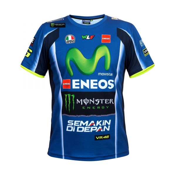 Tricouri Casual VR46 Tricou Yamaha Rossi YDMTS273809