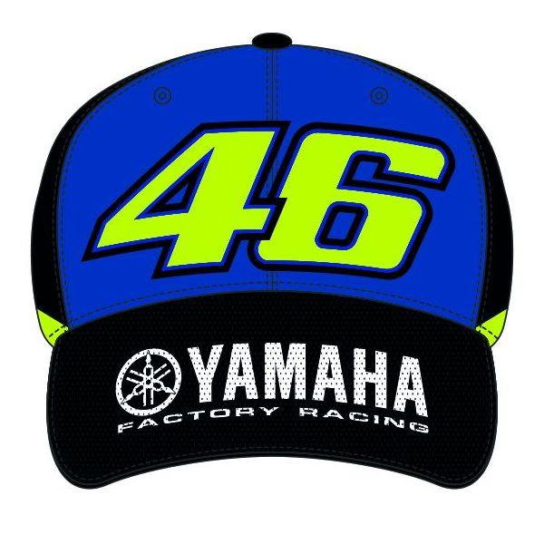 Sepci VR46 Sapca Yamaha Blue YDMCA361709