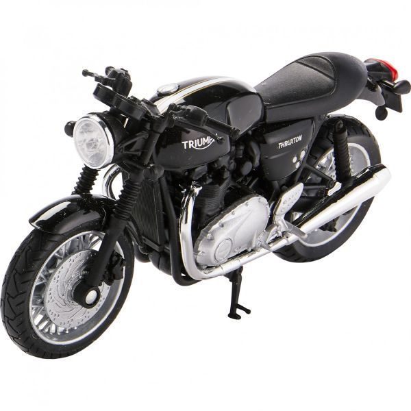 Machete On Road Welly Macheta Triumph THRUXTON 1200 1:18