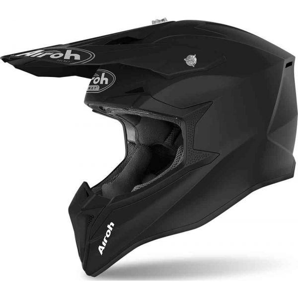 Casti MX-Enduro Airoh Casca Moto MX Wraap Color Black Matt 2020