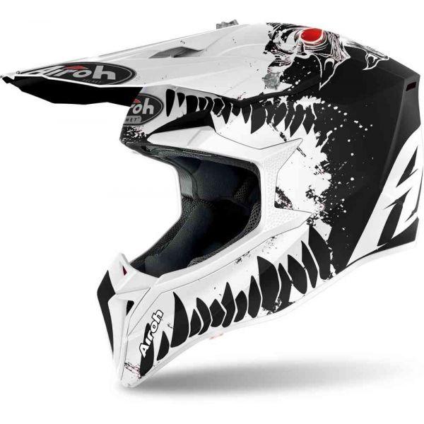 Casti MX-Enduro Airoh Casca Moto MX WRAAP BEAST Matt 2021