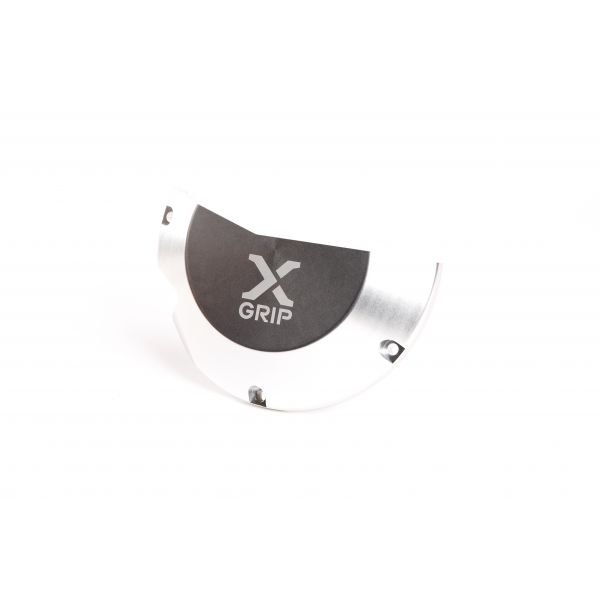 X-Grip Protectie Capac Ambreiaj KTM EXC/Husqvarna TE 250/300 2017-2020 Silver