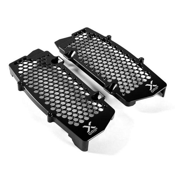 Protectii Radiator X-Grip Protectii Radiator KTM/Husqvarna 19> Negru