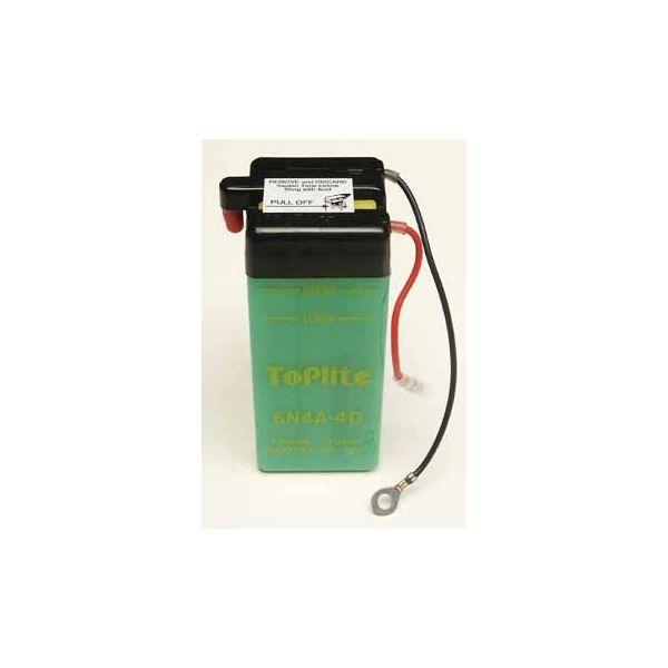 Acumulatori Cu Intretinere Yuasa Toplite 6N4A-4D (CU INTR., NU INCL. ACID)