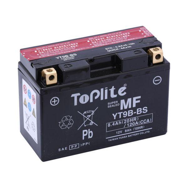 Acumulatori Fara Intretinere Yuasa Toplite TOPLITE YUASA - YT9B-BS/YT9B-4 (FARA INTR., INCL. ACID)