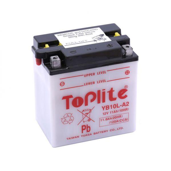 Acumulatori Cu Intretinere Yuasa Toplite YB10L-A2 (CU INTR., NU INCL. ACID)