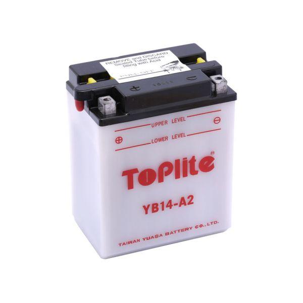 Acumulatori Cu Intretinere Yuasa Toplite YB14-A2 (CU INTR., NU INCL. ACID)