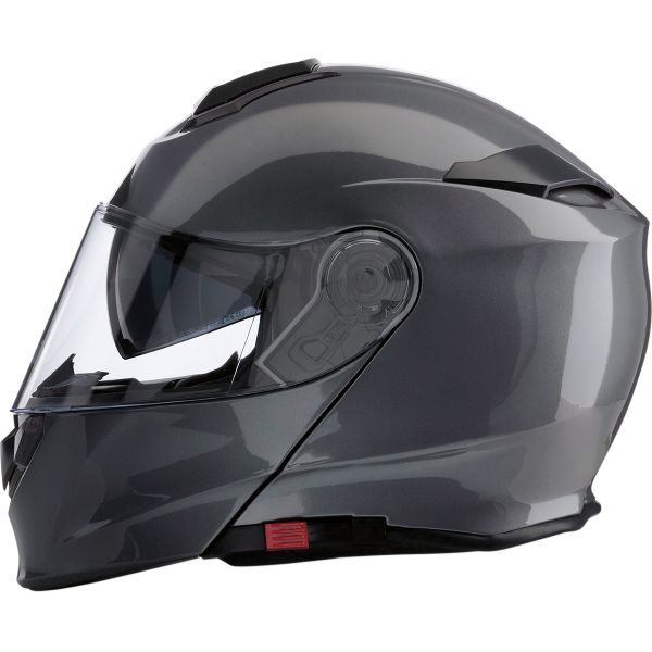 Casti Moto Flip-up (Modulabile) Z1R Casca Flip-Up Solaris Dark Silver 2020
