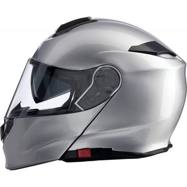 Casti Moto Flip-up (Modulabile) Z1R Casca Flip-Up Solaris Silver 2020