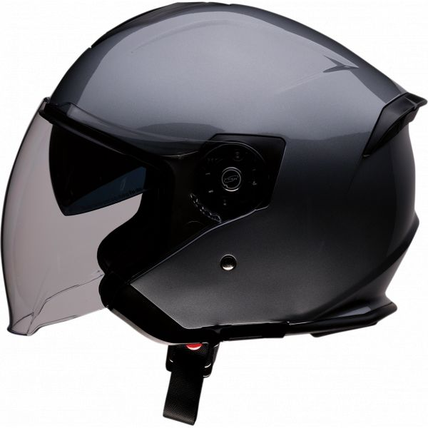 Casti Moto Jet (Open Face) Z1R Casca Jet Road Maxx Dark Silver 2020