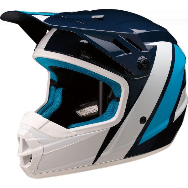Casti MX-Enduro Copii Z1R Casca MX Copii Rise Evac Albastru/Alb 2020