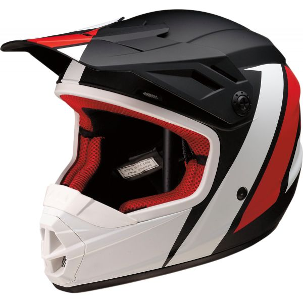 Casti MX-Enduro Copii Z1R Casca MX Copii Rise Evac Black/Red/White 2020