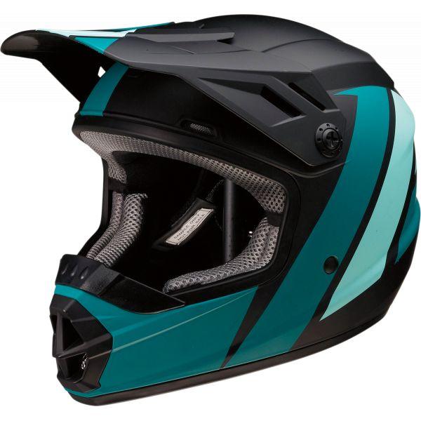 Casti MX-Enduro Copii Z1R Casca MX Copii Rise Evac Negru/Verde 2020