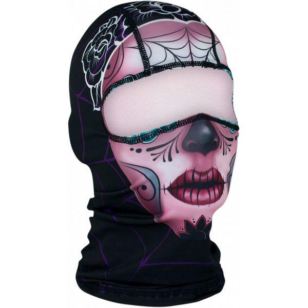 Cagule si Termice ZanHeadGear Cagula Sugar Skull One Size Wbp082 2021