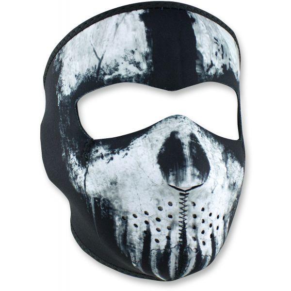 Cagule si Termice ZanHeadGear Masca Fata Full Face Skull Ghost One Size Wnfm409 2021