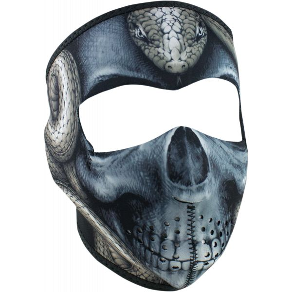Cagule si Termice ZanHeadGear Masca Fata Full Face Snake Skull One Size Wnfm415 2021