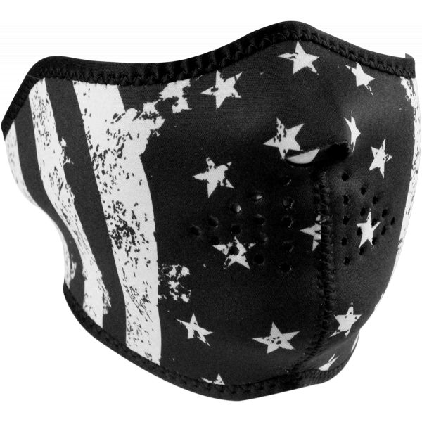 Cagule si Termice ZanHeadGear Masca Fata Half Face Flag One Size Wnfm091h 2021