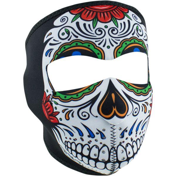 ZanHeadGear Masca Full Face Muerte Skull One Size