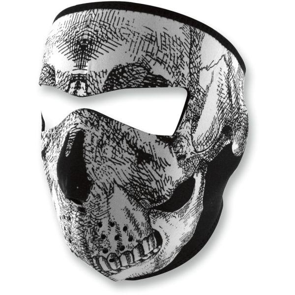 ZanHeadGear Masca Full Face Skull One Size