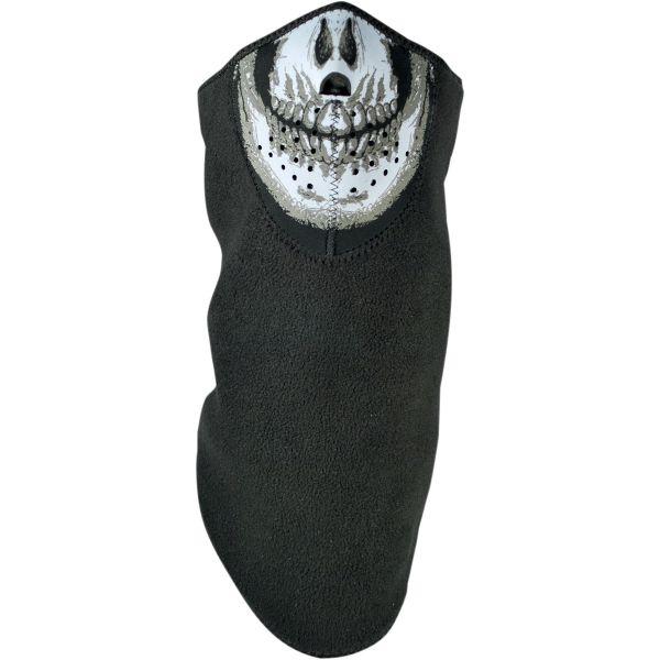ZanHeadGear Masca Half Face Neodanna™ Skull With Neck Shield One Size