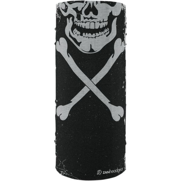 Cagule si Termice ZanHeadGear Protectie Gat Tip Tub Skull Xbones All Weather One Size T227 2021