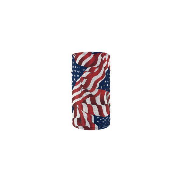 Cagule si Termice ZanHeadGear Protectie Gat Tip Tub Wavy American Flag Fleece Lined One Size Tf265 2021