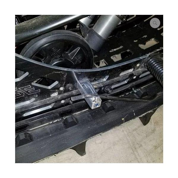 Accesorii Snowmobil ZRP Set Suport Spargator Gheata pentru Senila Skidoo Black