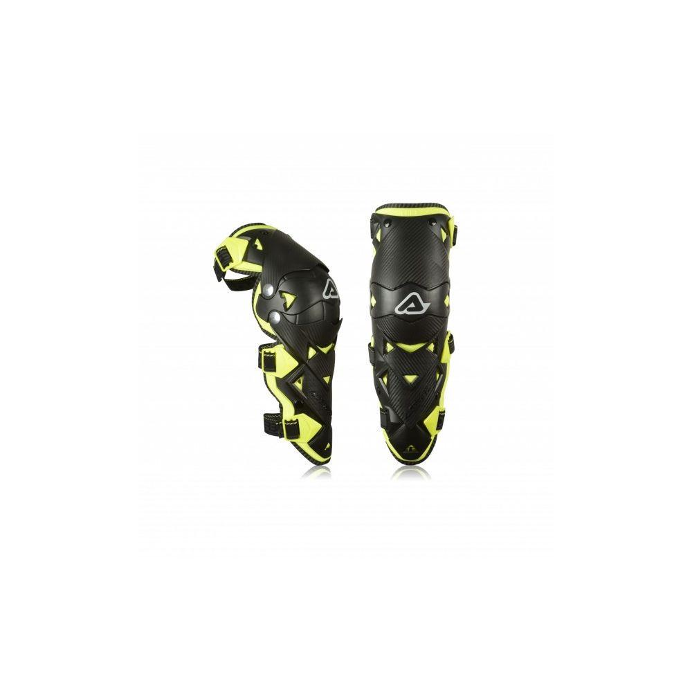 Genunchiere Moto Impact Evo 3 Black/Yellow Fluo 2020