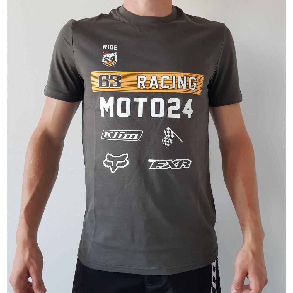 Tricou 63 Racing Gri 2020