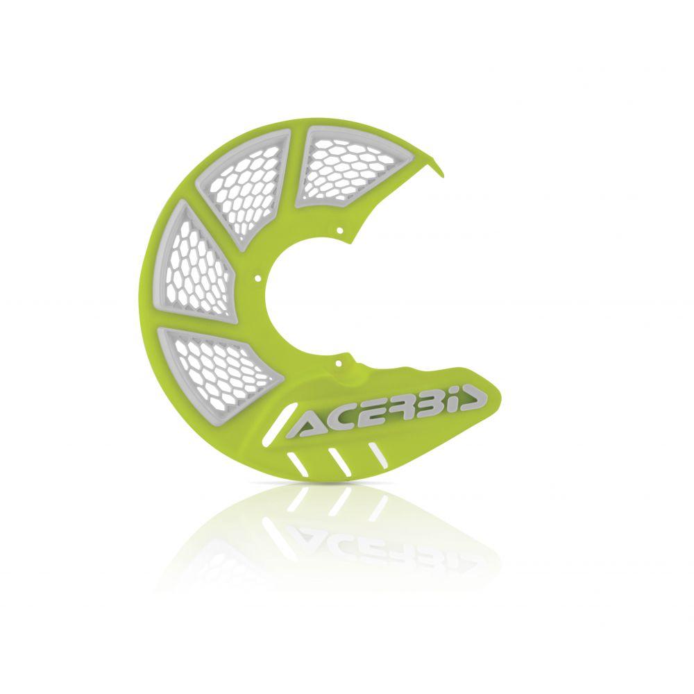 Protectie Disc Frana Fata AC X-Brake 2.0 Galben Fluo