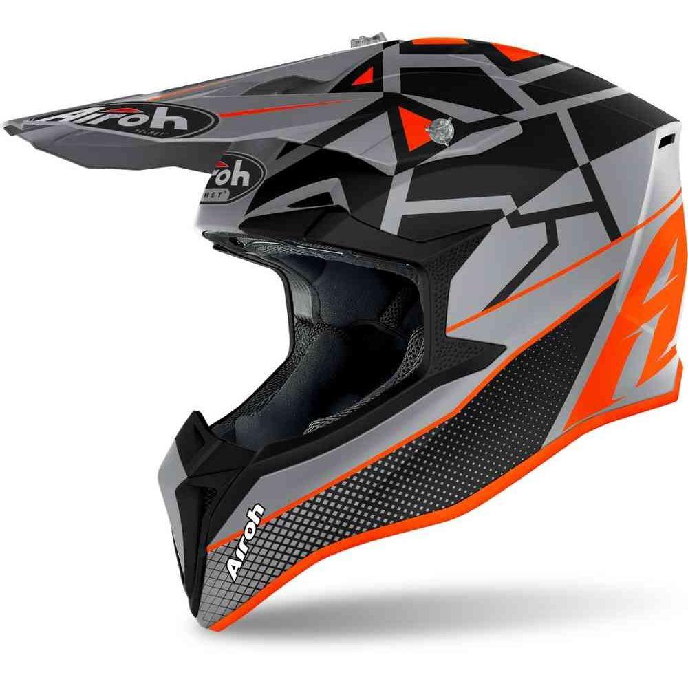 Casca Moto MX Wraap Mood Orange Matt 2021